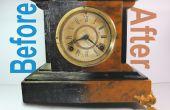 Antiguo reloj de chimenea Resto-Mod