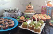 Mesa de fiesta y casa decoración Idea: fiesta de Halloween