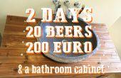 2 días, 20 cervezas, 200 euros y un cuarto de baño gabinete - A dejar de historia
