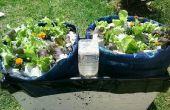 El ser más simple riego jardín contenedor para verduras o incluso árboles
