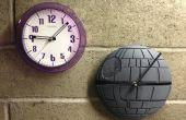 DIY reloj estrella de la muerte