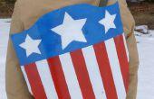 Escudo clásico Capitán América