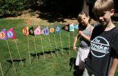 Par para el curso de Golf bandera para niños