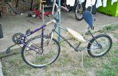 No soldar bicicleta del mandril reclinada