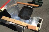 Cocina Solar parabólica casera