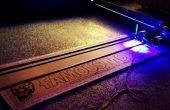 3W 4'x 4' Arduino cortador/grabador del Laser