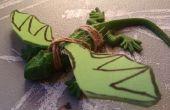 Cómo hacer un dragón bebé