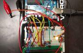 Simulador de equipo de aire acondicionado de Arduino