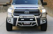 Instalar OffRoad LED FogLight Toyota Tundra 2014-up