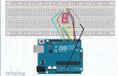 7 segmentos Display en Arduino