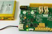 LinkIt uno - indicador de nivel de batería