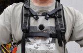 Montaje de pecho GoPro cámara para Camelbak