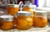 Cómo preservar la fruta con conservas caseras