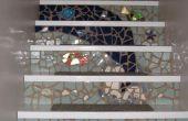 Escaleras de mosaico