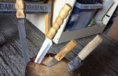 Conversión de cuchillo de cocina