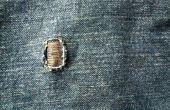 Parches de pantalones vaqueros; Un Instructable simple.