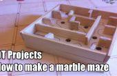 Cómo hacer un laberinto/labyrinth mármol
