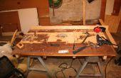 Convertir una mano sierra circular en una sierra de mesa