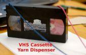 VHS Cassette dispensador de hilo!
