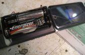 ¿AA batería Powered celular