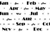 Para imprimir calendario perpetuo