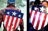 Menos de 20.oo la segunda guerra mundial, Capitán América protector