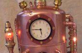 Tiempo de Steampunked viaje máquina