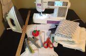 Como hacer un pañal de tela equipada con broches de presión