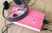 Servidor de audio y grabadora con Edison de Intel