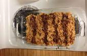 Cómo - para hacer mantequilla de maní Chocolate Pretzel arroz crujiente trata