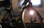 Sistema de iluminación de bicicleta simple, luminoso, barato