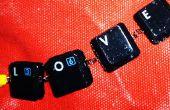 Pulsera de teclado con teclas intercambiables