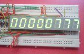 5 y 8 dígitos Arduino contador