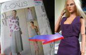 Traducir un patrón de ropa para muñeca de proporciones