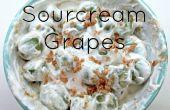 Azúcar morena Sourcream uvas