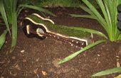 Una guitarra para el jardín (planter)