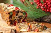 Sano y fresco pastel de fruta masticables sin utilizar horno