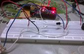 Par de ARDUINO antirrobo alarma usando emisor-Detector infrarrojo