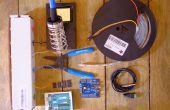 Analizador de espectro de LED activa por sonido