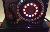 Disco duro NeoPixel 3D impreso reloj