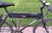 Encerado lona maraña bolsa para bicicleta