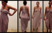 Hermoso vestido - muy fácil DIY