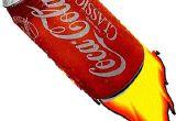 Cómo hacer un cohete de Soda puede