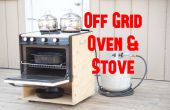 Portátil de rejilla horno y estufa