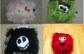 Bolsos Crochet Fuzzy