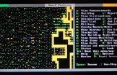 ¿Fortaleza enana en un ambiente sólo de texto (Ubuntu) (sin sonido)