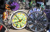 Ruedas de bicicleta de raspador