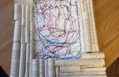 Marco de rollo de papel