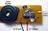Sonda de tensión con tono y LED salidas