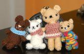 Cutie tiene familia Amigurumi patrón